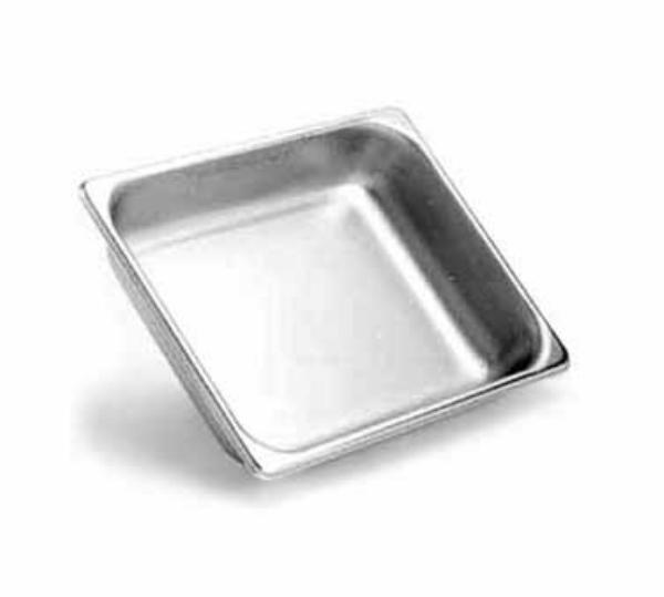 Browne Foodservice 8124 Half-Sized Steam Pan, Stainless