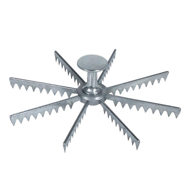 Browne Halco 8408 Pie Marker, 8 Cut, Aluminum
