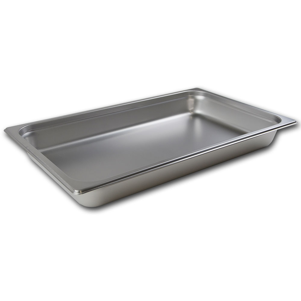 Browne Halco 88002 Full-Sized Steam Pan, Stainless