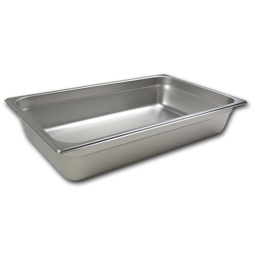 Browne Halco 88004 Full-Sized Steam Pan, Stainless
