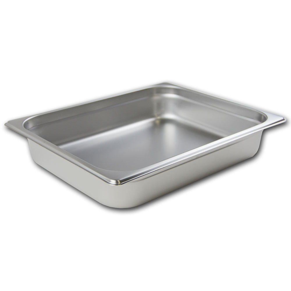 Browne 88122 Half-Sized Steam Pan, Stainless