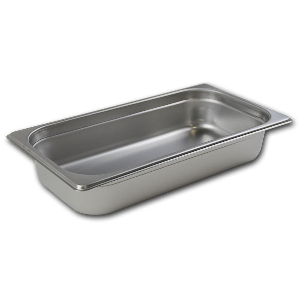 Browne Halco 88132 Third-Size Steam Pan, Stainless