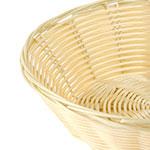 Browne 8859 Basket, 8 x 2-1/4 in, Round, Polypropylene, Odorless, Dishwasher Safe
