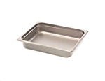 Browne Halco 98142 Fourth-Size Steam Pan, Stainless