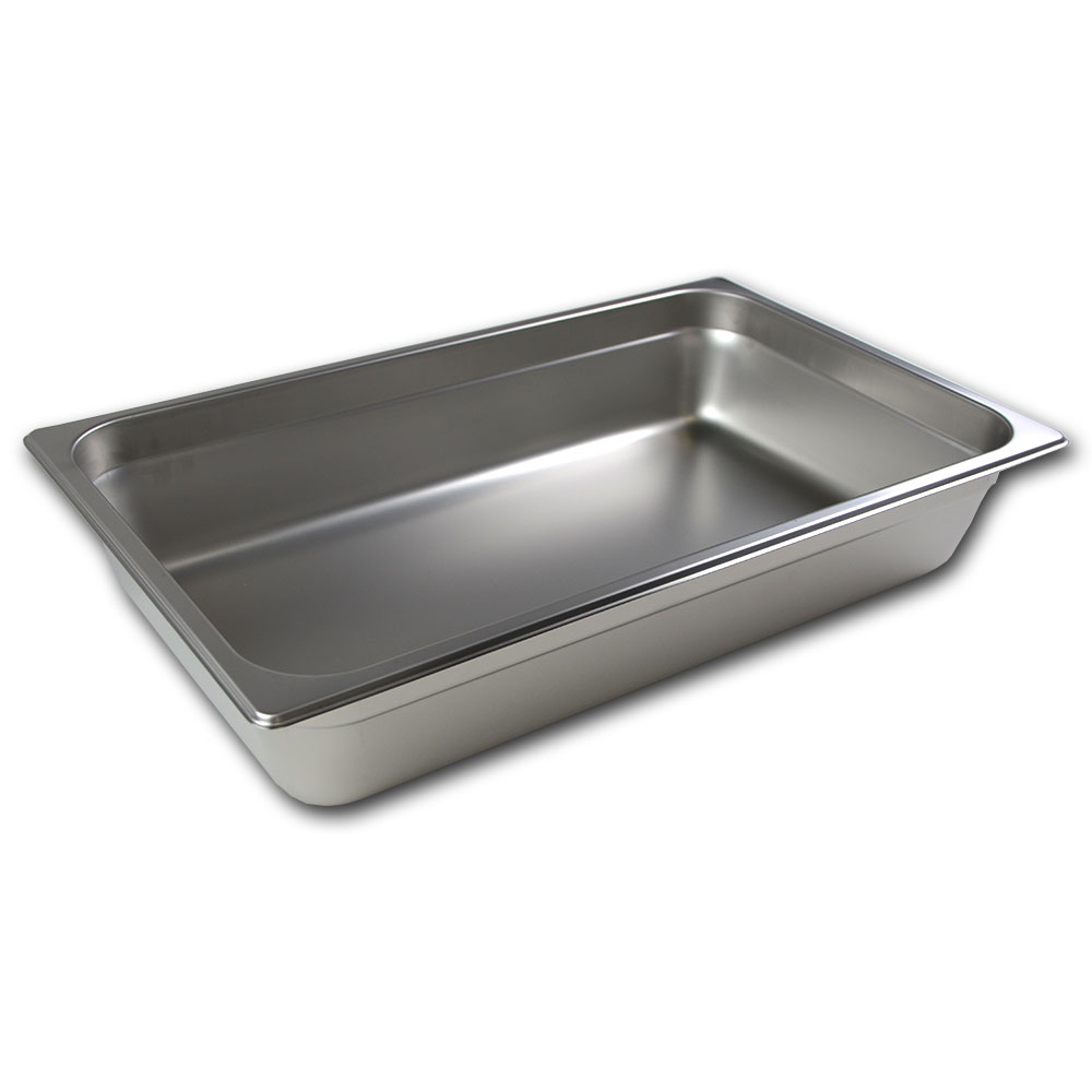 Browne 98004 Full-Sized Steam Pan, Stainless