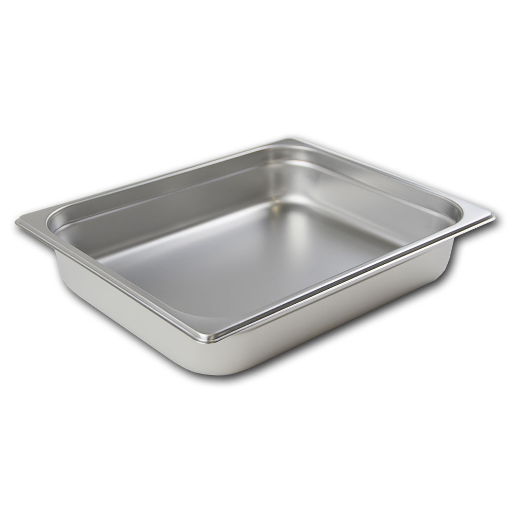 Browne Halco 98122 Half-Size Steam Pan - Antijamming, Stainless