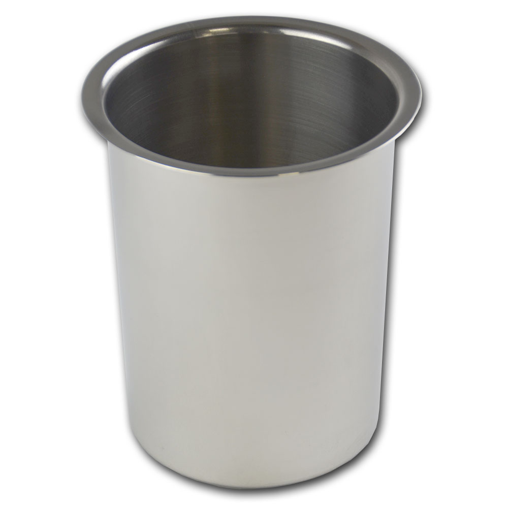 Browne Halco BMP2 Bain Marie Pot, 2 qt Capacity, Fits 4-7/8 in Opening