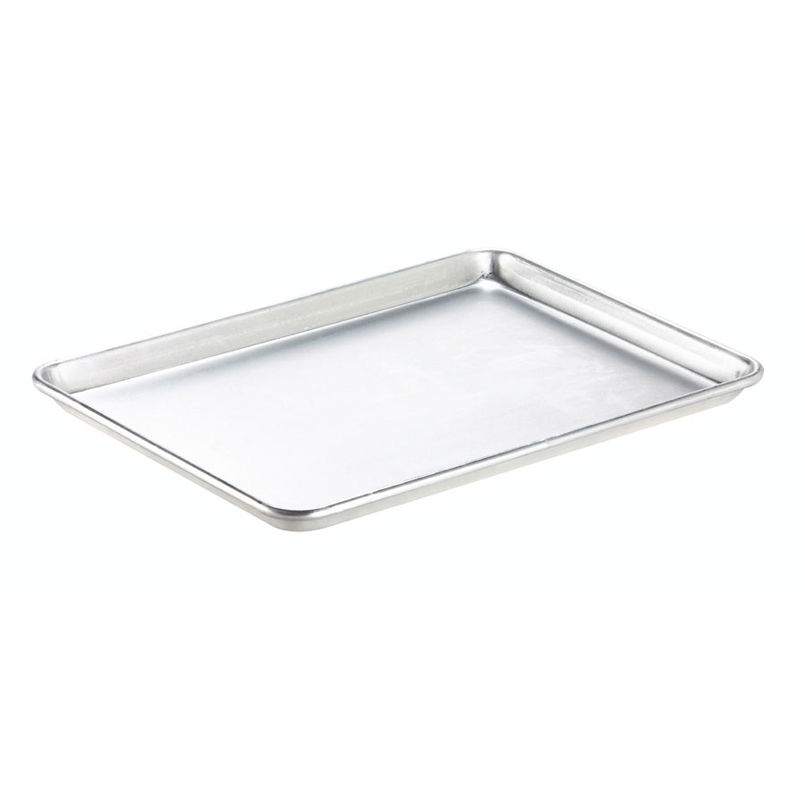 "Browne Halco BP182632 Bun Pan, Full Size, 18 x 26 x 1""Deep, Aluminum, 20 Gauge"