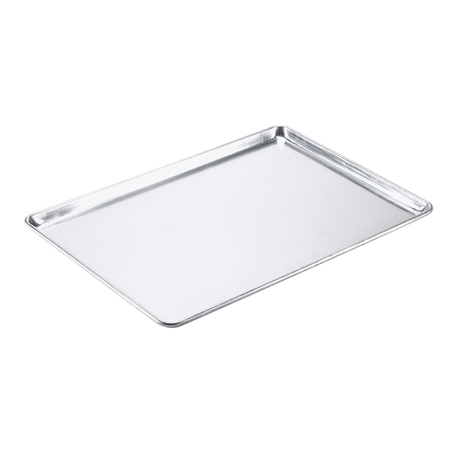 "Browne BP182640 Bun Pan, Full Size, 18 x 26 x 1""Deep, Aluminum, 18 Gauge"