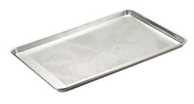 Browne Halco BP1826-12P Thermalloy Half Size Bun Pan, 18 x 13 x 1 in, Perforated,