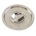 Browne Halco CBMP6 Bain Marie Pot Cover, Solid, Fits 6 qt Pot, Stainless Steel