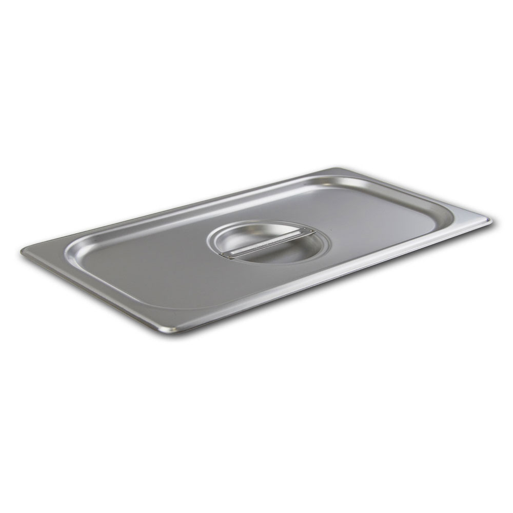 Browne CP2224L Half-Size Long Steam Pan Cover, Stainless