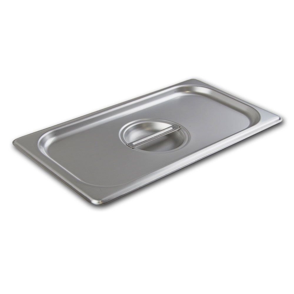 Browne CP8122 Half-Sized Steam Pan Cover, Stainless