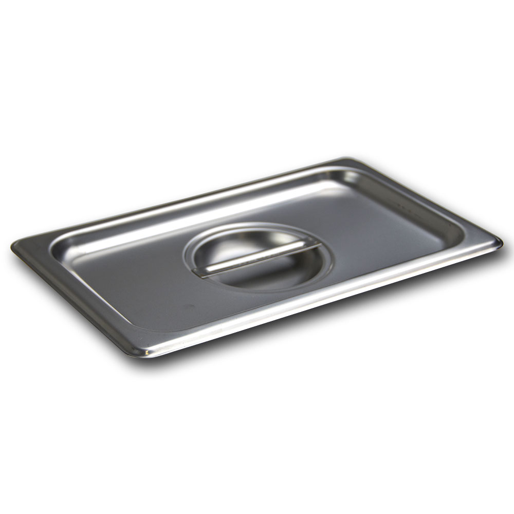 Browne Halco CP8142 Fourth-Size Steam Pan, Stainless