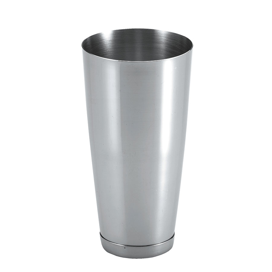 Browne Halco CS377 Cocktail Shaker, 30 oz, 7 in, 18/8 Stainless Steel, Fits Shaker Glass