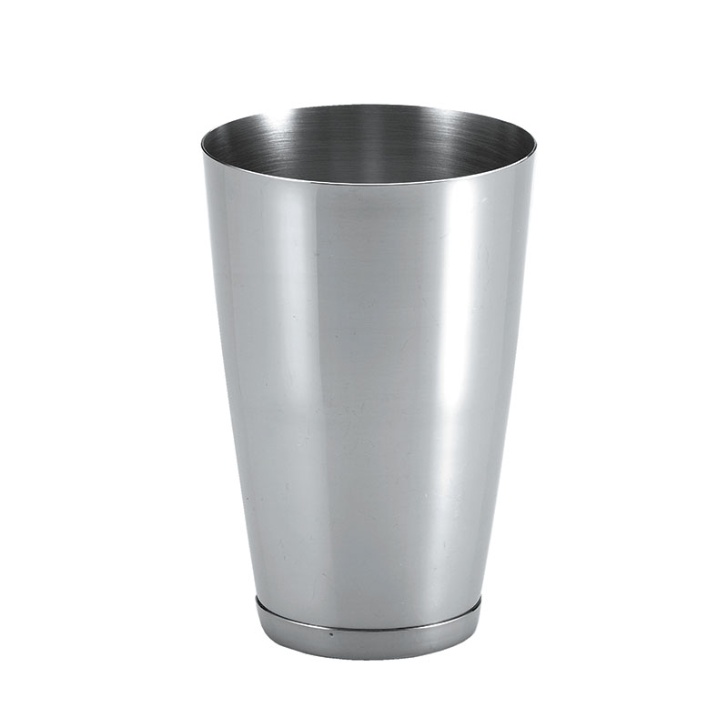 Browne Foodservice CS53812 Cocktail Shaker, 15 oz, 4-1/2 in, Fits Shaker Glass