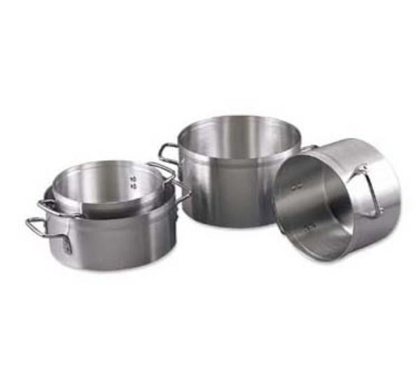 Browne Foodservice EW06 Eagleware Aluminum Sauce Pot 6 qt, 4-1/2 in Deep