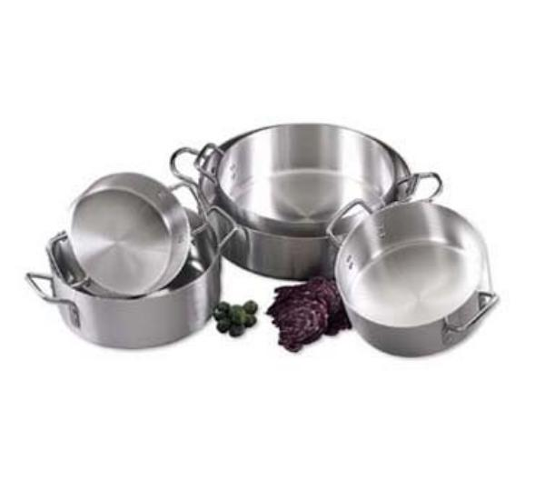 Browne Foodservice EWBR10 Eagleware Standard Weight Brazier, 10 qt, 3.2 mm
