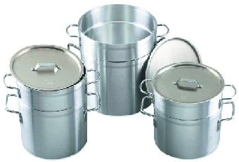 Browne-Halco EWDB12 Eagleware Aluminum Double Boiler 11 qt. Restaurant Supply