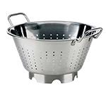 Browne Foodservice 575950 12.75-in Round European Colander, 7.25-qt, Stainless, Mirror Finish