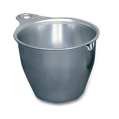 Browne Foodservice HLK665 Measuring Cup, 1/2 cup, Short Handle, Aluminum