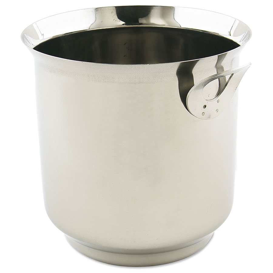 "Browne Halco IB22 Ice Bucket, 6-1/4""High, Stainless Steel"