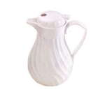 Browne Halco IP4022W40PBL Lid For 40 oz Beverage Pitcher, White