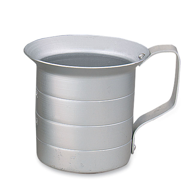 Browne Halco ML05 Liquid Measuring Cup, 1/2 qt, Heavy Duty Aluminum