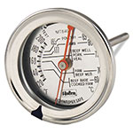 Browne Halco MT84001 Meat Thermometer, Dual Face Dial, Dishwasher Safe