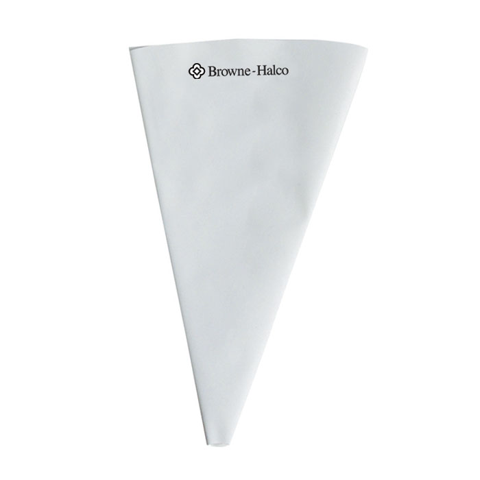Browne Halco NPB1 Pastry Bag, 7 x 11 in, Pliable Nylon, Reusable