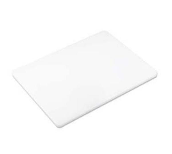 Browne Foodservice PEM1520 ColorCode Cutting Board 15 x 20 x 3/4 in, White, Hi-Density, NSF