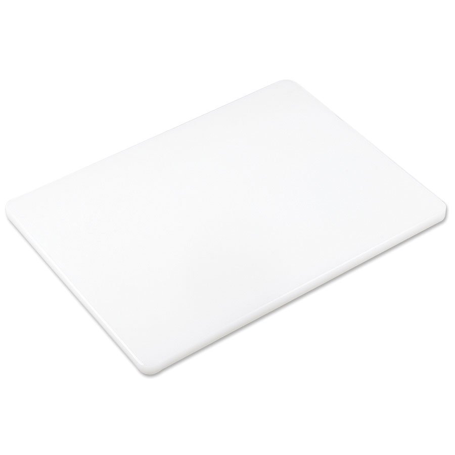 Browne Foodservice PER1824 Cutting Board w/ High Density Poly, 18 x 24 x .5-in, White