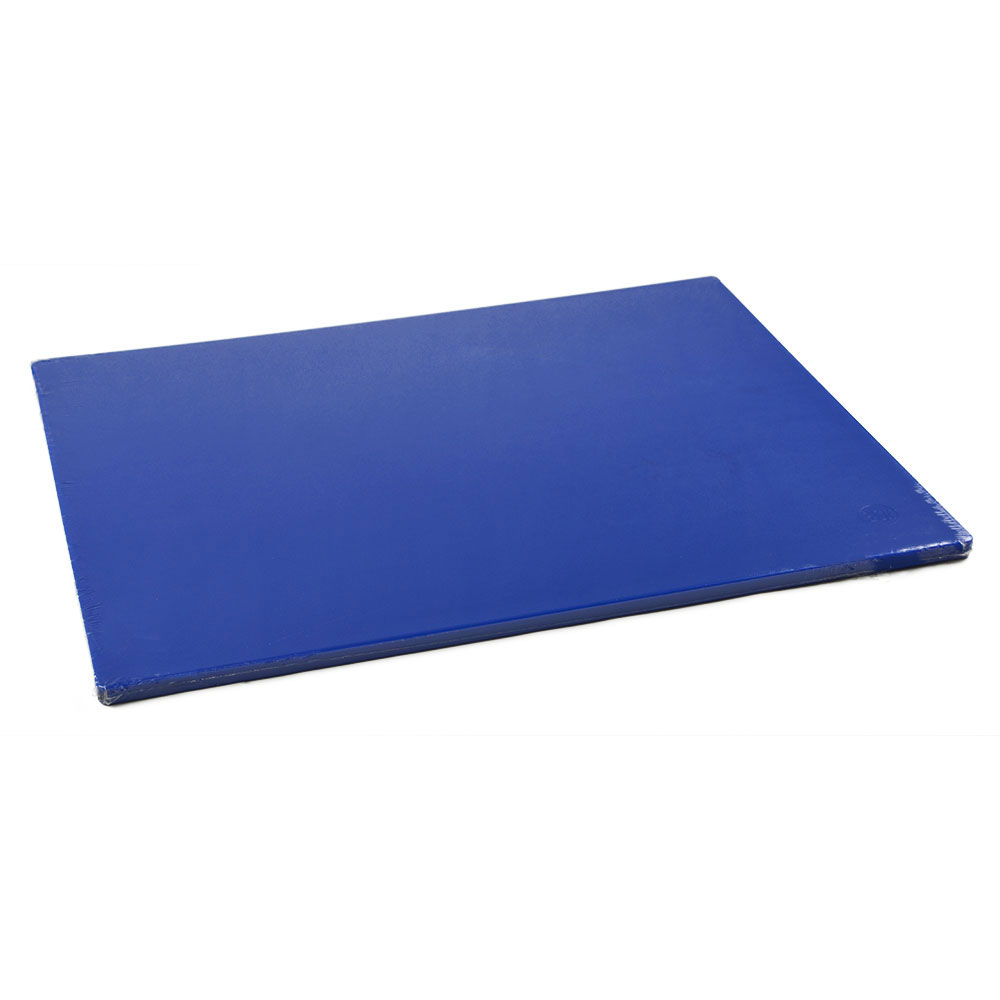 Browne Foodservice PER1824MBL ColorCode Cutting Board, 18 x 24 x 1/2 in , Medium Density, Blue