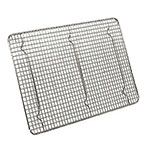 Browne Foodservice PG12165 Footed Pan Grate, 12 x 16-1/2 in, Chrome Plated Wire