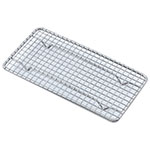 Browne Halco PG510 Pan Grate, 10 x 5 in, Footed, Nickel Plated