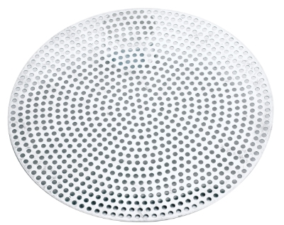 Browne Halco 57 30009 9 in Perforated Pizza Disk, Aluminum, Natural Finish