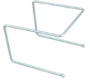 Browne PS180 Chrome Plated Pizza Stand, 6-3/4 x 8-1/2 x 9-in