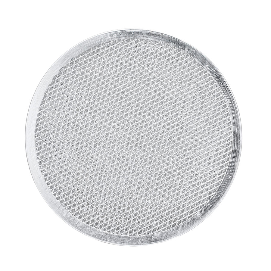 "Browne Halco PS8 Pizza Screen, 8"" Aluminum, Allows Air To Circulate Beneath The Crust"