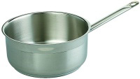 Browne Foodservice SS32410I 5.25-qt Saucepan - Induction Compatible, 18/10 Stainless