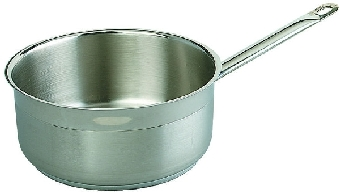Browne Halco SS32410I 5.25-qt Saucepan - Induction Compatible, 18/10 Stainless