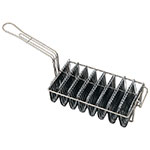 Browne Foodservice TB8M Taco Fryer Basket w/ 8-Bowl Capacity