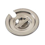 Browne Halco VIC0812 Vegetable Inset Cover, Fits 7-1/8 qt Inset, Slotted, Stainless Steel