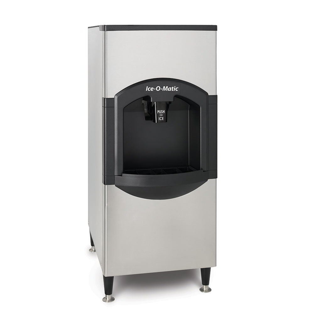 Ice-O-Matic CD40130 Floor Model Cube Ice Dispenser w/ 180-lb Storage - Bucket Fill, 115v