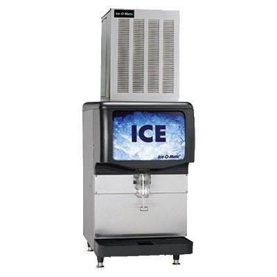 "Ice-O-Matic GEM1306A 21"" Pearl Ice® Nugget Ice Machine Head - 1350-lb/24-hr, Air Cooled, 208-230v/1ph"