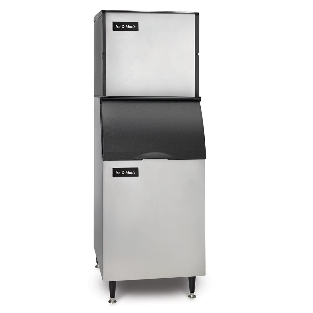 Ice-O-Matic ICE0320FAB42PS 334-lb/Day Full Cube Ice Maker w/ 351-lb Bin, Air Cooled, 115v