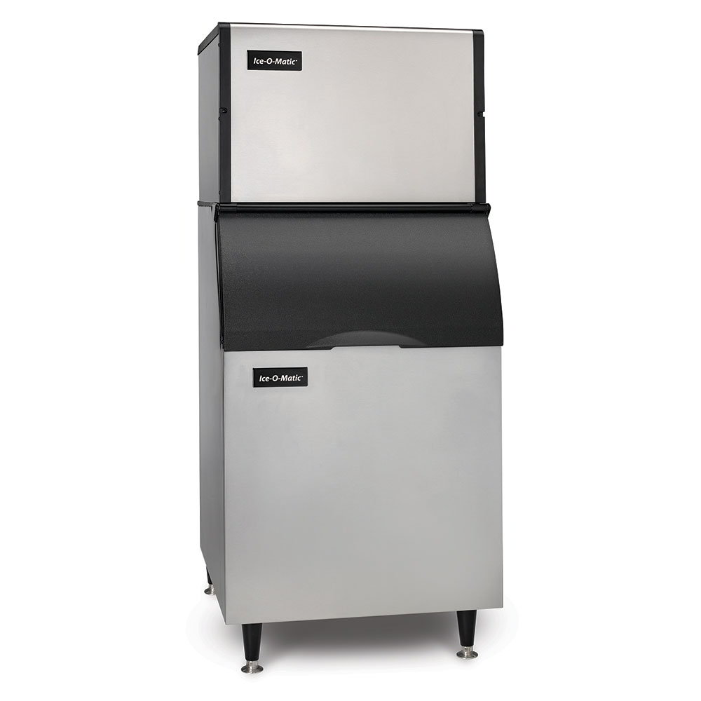 Ice-O-Matic ICE0400HA/B55PS 115V 505-lb/Day Cube Ice Maker w/ 510-lb Bin, Air Cooled, 115v