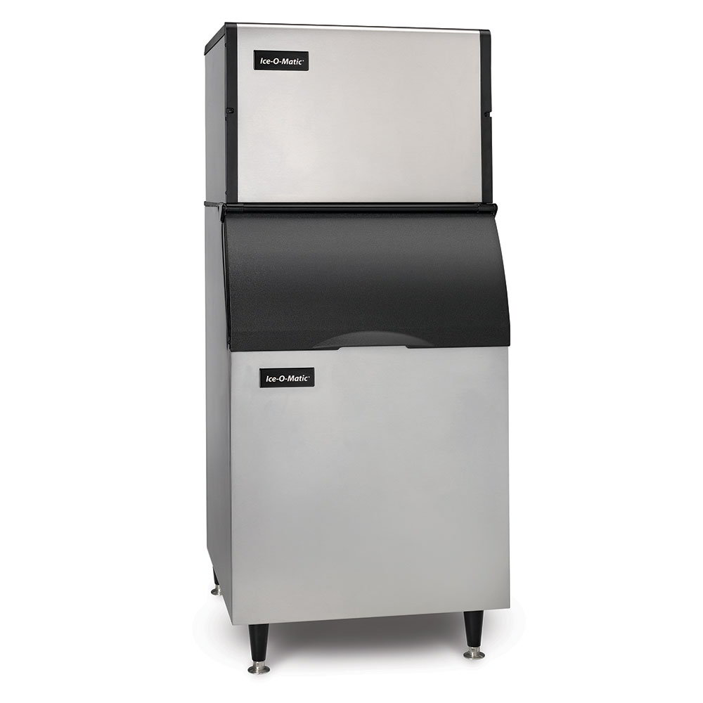 Ice-O-Matic ICE0606HA/B40PS 208V 652-lb/Day Half Cube Ice Maker w/ 344-lb Bin, Air Cooled, 208v/1ph