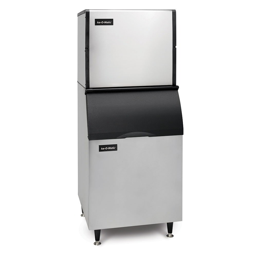 Ice-O-Matic ICE1006B100KBT5 1060-lb/Day Full Cube Ice Maker w/ 854-lb Bin, Air Cooled, 208v/1ph