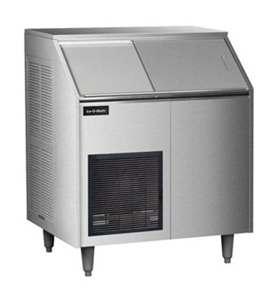 Ice-O-Matic EF250A38S Flake Ice Maker - 400-lb/24-hr, 213-lb Capacity, Air-Cool, Stainless 115v