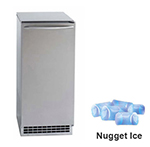 Ice-O-Matic GEMU090 Undercounter Nugget Ice Maker - 85-lbs/day, Gravity Drain, 115v